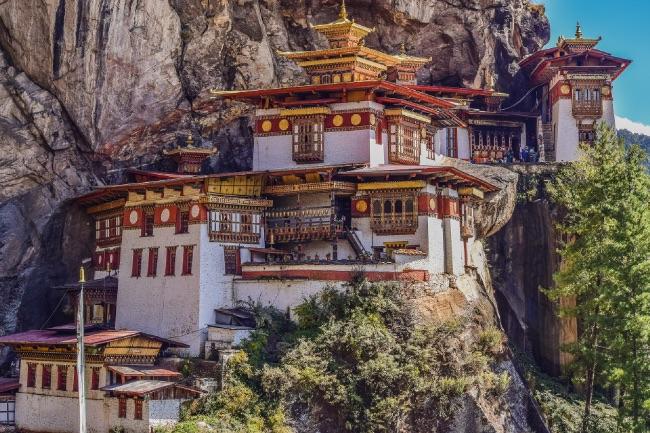ブータンの寺院