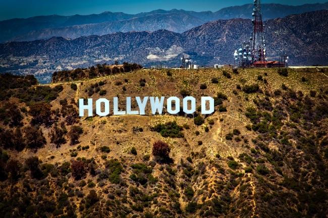 ハリウッド感満載写真