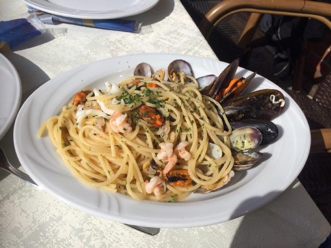 イタリアで食べたパスタ